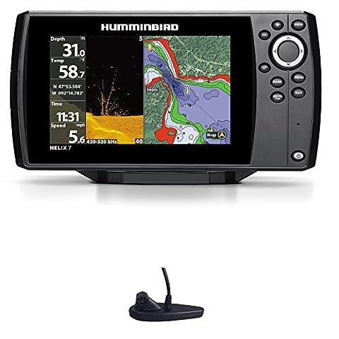 Humminbird Helix 7Chirp GPS G2di Down Imaging Fishfinder Nautical Chart
