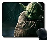 "Custom & Personalized Star Wars YODA Mouse Pads/Mats-Picture Printed Rectangle/Oblong Mousepad in 7""*9"""