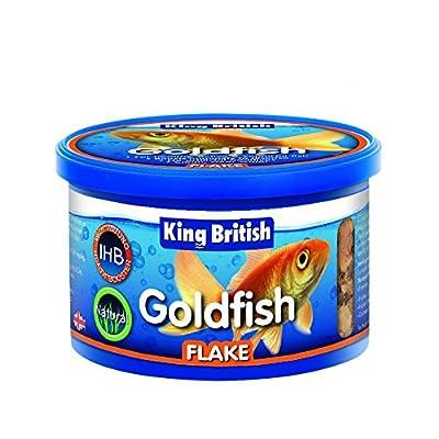 King British Goldfish Flake Food, 28 g, may vary