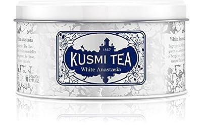 Kusmi Tea - Thé Blanc White Anastasia - Boîte 125g