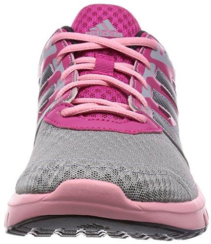 adidas Galaxy 2 W, Chaussures de Running Femme Rose (bopink/cblack/flare)