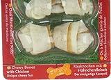 8in1 Delights Chicken Kauknochen Größe XS (gesunder Kausnack für sehr kleinere Hunde von 2 bis 12 kg, hochwertiges Hähnchenfleisch eingewickelt in Rinderhaut), 7 Stück (85 g) - 5