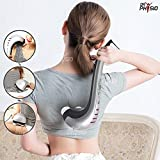 Dr Physio (USA) Powerful Double Head Body Massager Electric HammerPro Massage Machine for Pain Relief (With Infrared Lights) 1 Year Warranty Included