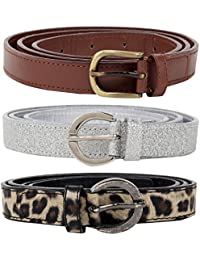 Jainsons belt combo of 3 pcs for women