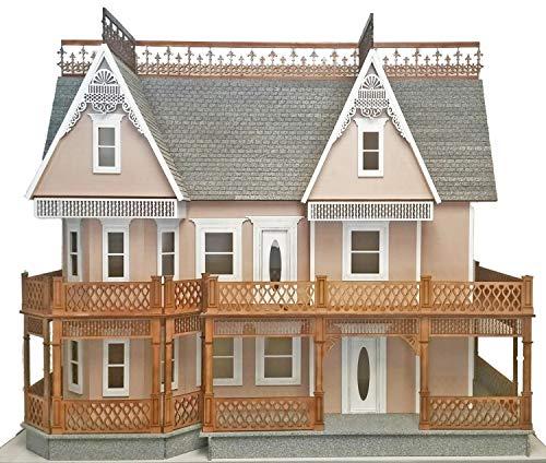 Melody Jane Casa de Muñecas Victoriana Jengibre Granja 1:12 Escala Corte Lazer Paquete Plano Kit