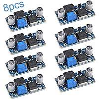 RUNCCI-YUN 8 Pcs Buck coverter módulo LM2596 DC 3.0-40V a 1.5-35V Regulador de Potencia Ajustable Buck