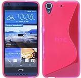HTC Desire 626G Silikon Hülle Tasche Case Gummi