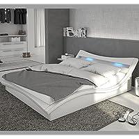 Camas y muebles - Cama de diseño Granada de color blanco ...