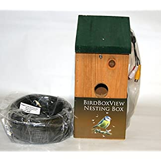 Birdboxview colour camera nestbox. Watch and listen to birds in their nest on a TV. Springwatch in your living room! (30m) Birdboxview colour camera nestbox. Watch and listen to birds in their nest on a TV. Springwatch in your living room! (30m) 51CJWscPblL