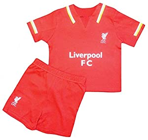 Liverpool F.C. Official Shirt and Shorts Set by Liverpool