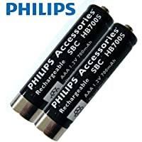 Philips Short Sleeve SBCHB700S - 700 mah NiMH Rechargeable Batteries