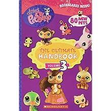 The Ultimate Handbook Volume 3 Littlest Pet Shop Bookmarks Inside