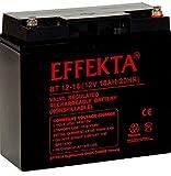 EFFEKTA BT 12-18i / 12V 18Ah AGM Blei Akku Batterie