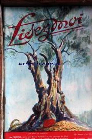 LISEZ MOI [No 70] du 25/10/1948 - A. ARMANDY - M. DUPLAY - J. RAMEL-CALS - J. POURTAL DE LADEVEZE - P. VIALAR - PH. CHABANEIX - M. MAURON - J. ET J. THARAUD - RENE AUBERT - A. MAUROIS.