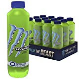 Monster Hydro Mean Green / Stilles Energy Kick ohne Taurin / 12 x 550 ml Einweg Flasche