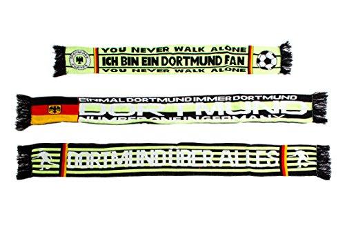 3Pack bufanda Dortmund Varios Motivos