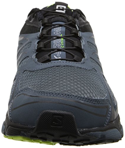Salomon - X-Scream 3D - Sneaker, homme Gris (Grey Denim/Black/Fluo Yellow)