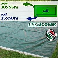 Telo di copertura invernale per piscina 25 X 50 mt