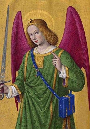 Carnet Blanc, Heures Anne de Bretagne, Ange à l'épée