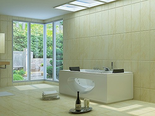 Luxus Whirlpool Badewanne 180x90 in Vollausstattung (Massage) - Sonderaktion - 2