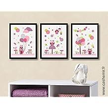 Amazonfr Decoration Chambre Fille Tableau