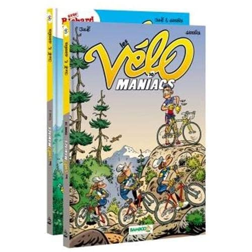 Pack Les Vélomaniacs Tome 04 + Tome 10 offert