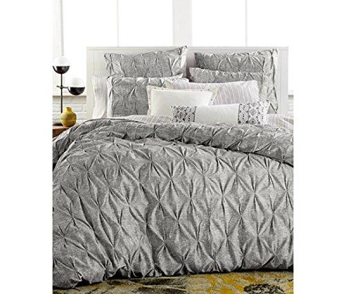 e grau und weiß Full/Queen Bettbezug ()