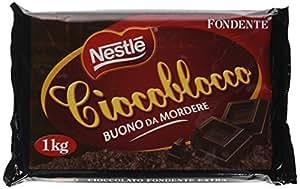 NESTLÉ CIOCOBLOCCO Fondente blocco di cioccolato fondente 1kg