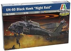 Italeri - I1328 - Maquette - Aviation - Uh-60/mh-60 Black Hawk