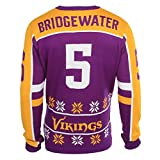 NFL Ugly Sweater/Pullover Christmas MINNESOTA VIKINGS Teddy Bridgwater - 2