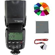 fomito Godox TT6002.4G Wireless GN60Master Slave cámara flash Speedlite para Canon, Nikon, Pentax y Olympus Fujifilm Cámara