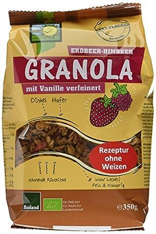 Bohlsener Muehle Bio Granola Erdbeer-Himbeer, 6er Pack (6 x 350 g)
