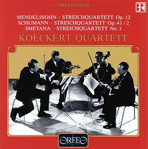 Mendelssohn Streichquartette Köckert Q -