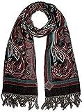 Lorenzo Cana - Luxus Herren Schal Schaltuch aus weicher Wolle Paisley Muster bunt mehrfarbig 70 x 190 cm Wollschal Wolltuch Stola Umschlagtuch