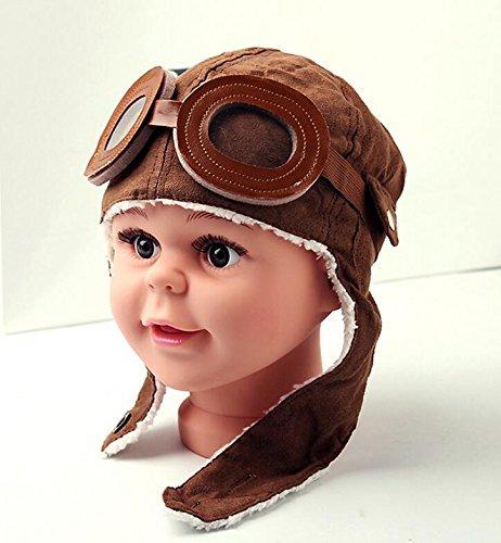 BANCN Fashion Baby Kid Winter mit Ohrenklappen Pilot Cap Hat Mütze Bomber Flug Helm