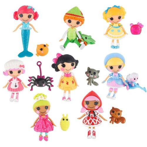 Mini Lalaloopsy Tales 3 inch Mini-Dolls - 8-Pack / Märchen - Mini Figuren Set 8 Stück - aus USA
