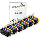 24 (6 Ensembles) Colour Direct Compatible Cartouches d'encre Remplacement Pour HP 903 / HP 903XL - HP Officejet Pro 6960 All-in-One, 6970 All-in-One, 6975 All-in-One Imprimantes ( T6L99AE T6M03AE T6M07AE T6M11AE )