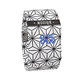 LCLrute Papieruhr Creative LED Wasserdichte Uhr Tyvek Papierband Digitaluhren (J)