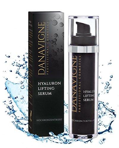 Reines Hyaluron Serum hochkonzentriert - Anti Aging Männer & Frauen Face Lifting Gel mit Antifalten Soforteffekt - 1er Pack (1x50 ml)