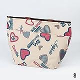 Impermeabile Lunch Box Bag Tote isolata Kuhltragetasche fur momotour picnic, custodia