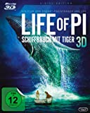 Life of Pi - Schiffbruch mit Tiger [3D Blu-ray]