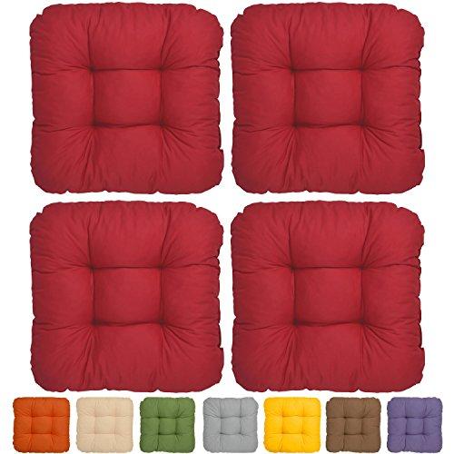 set-da-4-comodi-cuscini-lisa-40x40x8-cm-ideali-per-sedie-rosso-imbottitura-voluminosa-e-soffice-senz