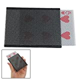 Dcolor Plastic Card Sleeve Change Amazing Visual Illusion Magic Trick--Suitable for Most Cards