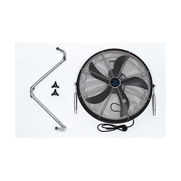 Westinghouse-Yucon-II-Ventilador-de-pie-con-5-palas-abs-50-cm-de-dimetro-120-W-color-negro