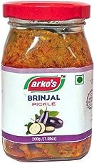 Arkos Homemade Brinjal Pickle, 200g