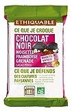 Ethiquable Chocolat Noir 65% Noisettes Entières Framboises...