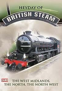 Heyday of British Steam - West Midlands, The North & North West DVD