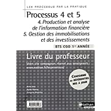 Processus 4 et 5 par la pratique BTS 1 - Livre du professeur