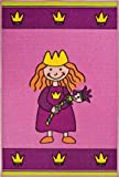 Andiamo 1100124 Kinderteppich Prinzessin, 80x120cm