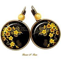 Nouveau #18 Argent Sterling 925 Hommes Femmes Bali Style Créoles Boucle d/'oreille bijoux 15 mm